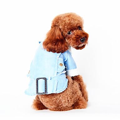 Hunde Weste Hundekleidung Winter Frühling/Herbst Britisch Lässig/Alltäglich Braun Blau Bronze Khaki