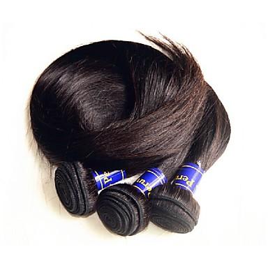 Peruanske Remy hår Remyfletninger av menneskehår Rett Remy hårvever med menneskehår