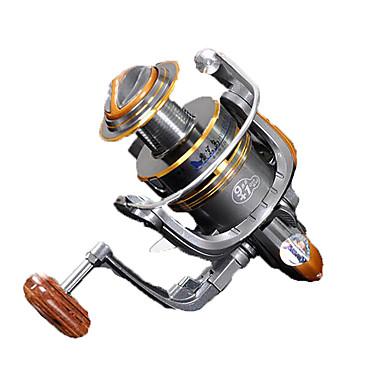 Fishing Reels بكرة دوارة 5.2:1 نسبة أعداد التروس والاسنان+10 الكرة كراسى توجيه اليد قابلة تغيير الصيد العام - HYD2000