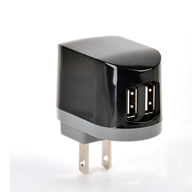 홈 충전기 / 휴대용 충전기 USB 충전기 US플러그 멀티 포트 2 USB 포트 2.1 A