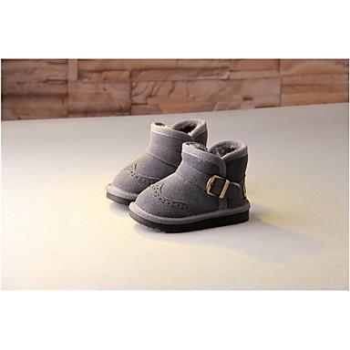 男の子 赤ちゃん 靴 レザー 冬 スノーブーツ ブーツ 用途 カジュアル グレー キャメル