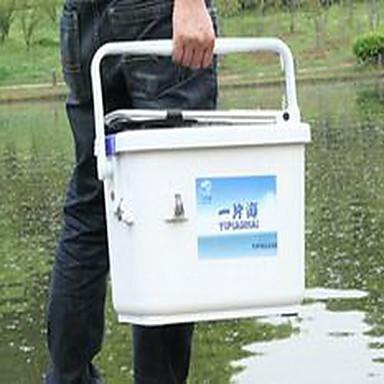 Angelkoffer Angelkasten Wasserdicht 1 Schale 42*32*39 PE(Polyethylen) PU(Polyurethan)