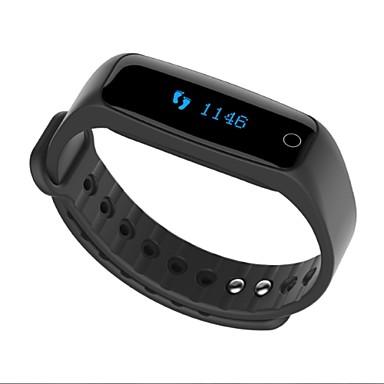スマートブレスレット iOS / Android 耐水 / メッセージコントロール アクティビティトラッカー / 睡眠サイクル計測器 / タイマー / 64MB