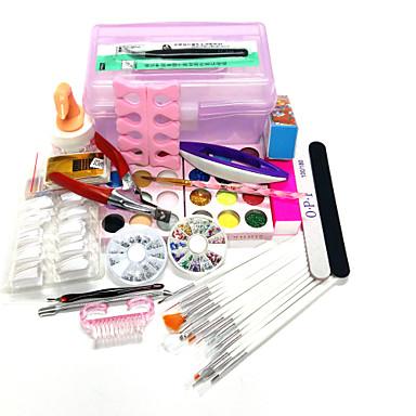 20sets Verpackung Menge Nagelsatz Nagelkunstdekoration Art Stil Nagel-Kunst-DIY Kasten