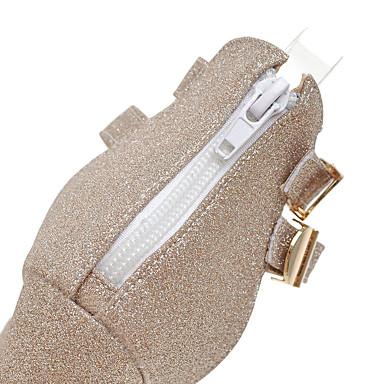 Automne Or Bottier Noir Sandales 05533539 Chaussures Boucle Talon Argent Paillette Bout Paillette ouvert Printemps Eté Femme qxBanUIwp