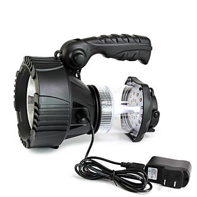 LED taskulamput LED 300 Lumenia 3 Tila Cree XR-E Q5 Litium-paristo Vedenkestävä Hätä High Power Himmennettävissä