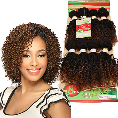 Curly Crochet Braids Curly Braids / Hair Accessory / Human Hair Extensions Hair Braids Daily