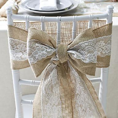 Bryllupsfest Blonde Blandet Materiale Bryllupsdekorasjoner Klassisk Tema Alle årstider