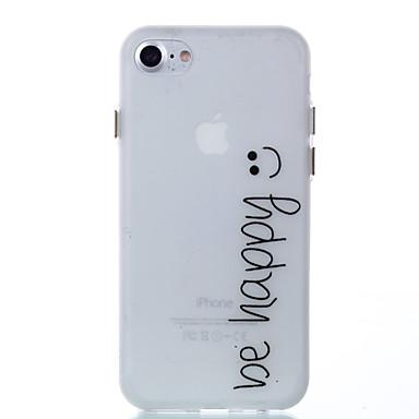 ケース 用途 Apple iPhone 8 iPhone 8 Plus 蓄光 バックカバー ワード/文章 ソフト TPU のために iPhone 8 Plus iPhone 8 iPhone 7プラス iPhone 7 iPhone 6s Plus iPhone 6