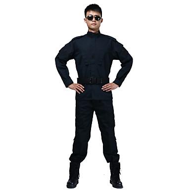 جاكيت صيد مع بنطلون رجالي / نسائي / للجنسين يمكن ارتداؤها / متنفس مموه مجموعات الثياب كم طويل إلى الصيد