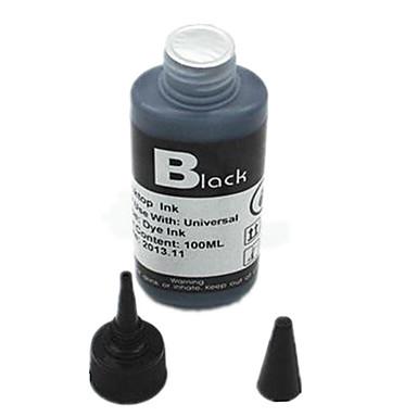 para HP / Canon / tinta da impressora Epson (uma garrafa / preto)