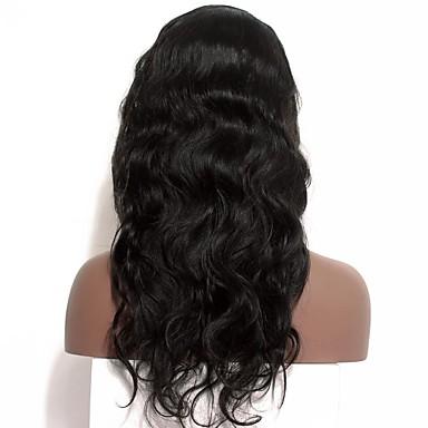 Remy haj Csipke Paróka Göndör 120% Sűrűség 100% kézi csomózású Afro-amerikai paróka Természetes hajszálvonal Rövid Közepes Hosszú Női