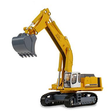 Veiculo de Construção Escavadeiras Caminhões & Veículos de Construção Civil Carros de Brinquedo 1:87 Retratável Metalic Plástico ABS 1pcs