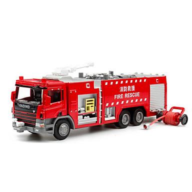 Brannbil Leketrucker og byggebiler / Lekebiler 01:50 Inntrekkbar Metallisk / Plast / ABS 1 pcs Gutt Barne Leketøy Gave