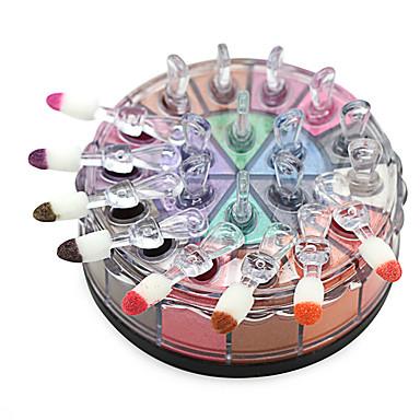 Polvos Ojo Gloss colorido Larga Duración Natural Maquillaje de Diario / Maquillaje de Halloween / Maquillaje de Fiesta Diario Maquillaje Cosmético