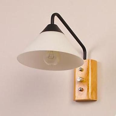 Moderne / Nutidig Vegglamper Tre / Bambus Vegglampe 110-120V / 220-240V 40W