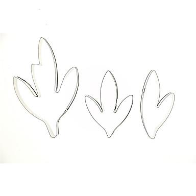 Herramientas para hornear Acero inoxidable Boda / Cumpleaños / día de San Valentín Galleta / Chocolate / para el caramelo Equipo de Hornear 3pcs