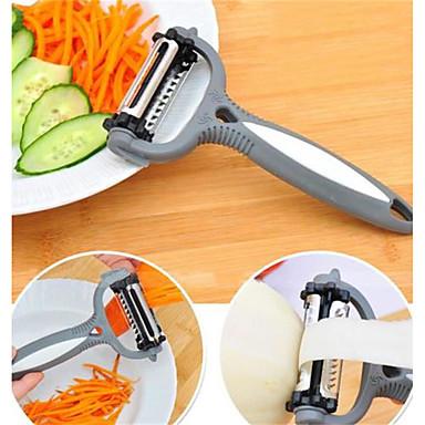 Herramientas de cocina El plastico Cocina creativa Gadget Pelador y del rallador para vegetal