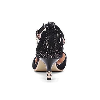amp; Femme Talons Evénement Automne Confort Printemps Noir Soirée Boucle Aiguille Chaussures Eté 05564764 Chaussures Soirée Rouge Talon pointu Bout Evénement à amp; Similicuir 4rpxq8Rw4