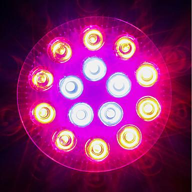 1620-1800lm E27 Voksende lyspære 18 LED perler Høyeffekts-LED Blå Rød 85-265V