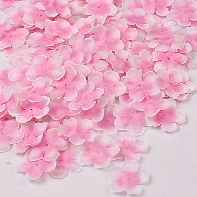 Kunstige blomster 1 Gren Pastorale Stilen Sakura Bordblomst