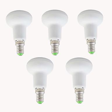 EXUP® 5pçs 5W 450lm E14 Luzes PAR LED R39 10 Contas LED SMD 2835 Decorativa Branco Quente Branco Frio 110-130V 220-240V