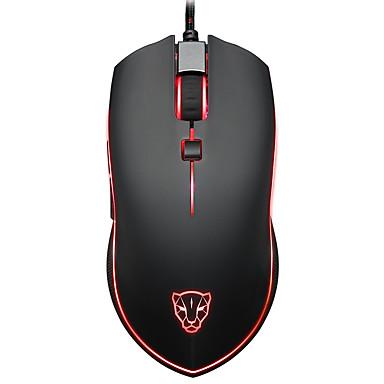 motospeed Com Fio Gaming mouse DPI ajustável Retroiluminado Programável 500/1000/1500/2000/3000/3500/4000