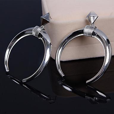 Κρεμαστά Σκουλαρίκια Κράμα Μοντέρνα Ασημί Χρυσαφί Κοσμήματα Γάμου Πάρτι Καθημερινά Causal 2pcs