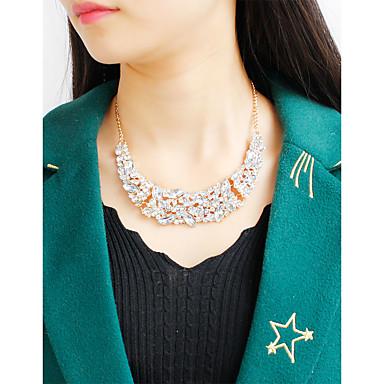 Mujer Gargantillas / Collares con colgantes / Collares de cadena - Dorado, Plata Gargantillas Para Fiesta, Cumpleaños, Casual