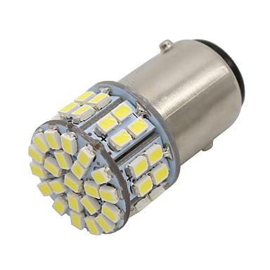 SO.K 10pçs BAY15D (1157) Carro Lâmpadas 4W SMD 3528 400lm LED Luz traseira For Universal