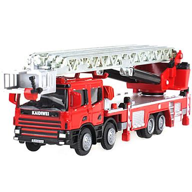Camión de bomberos Camiones y vehículos de construcción de juguete Coches de juguete Retráctil Metalic El plastico ABS 1pcs Chico Niños