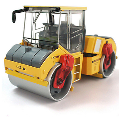 Veiculo de Construção Compactadores Caminhões & Veículos de Construção Civil Carros de Brinquedo 1:28 Retratável Metalic Plástico ABS 1pcs