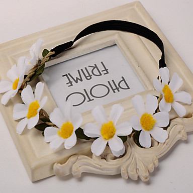 قماش زهور / أغطية الرأس with ورد 1PC زفاف / مناسبة خاصة / الأماكن المفتوحة خوذة