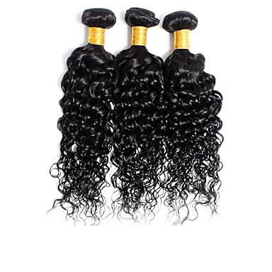 Cabelo Brasileiro Encaracolado Tramas de cabelo humano 1 Peça 0.1