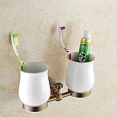 Tannbørsteholder Neoklassisk Messing 1 stk - Hotell bad