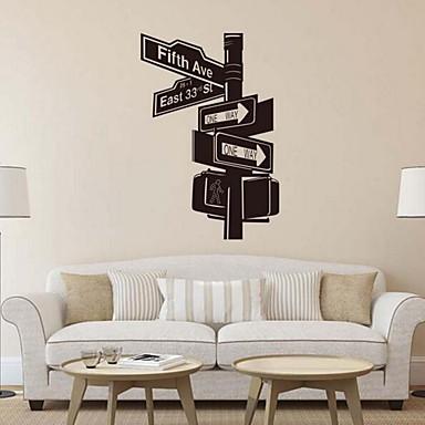 Dekorative Mur Klistermærker - Fly vægklistermærker Tegneserie Stue / butikker / cafeer