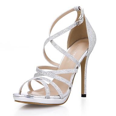 Mujer Zapatos Sintéticos Verano Confort Sandalias Tacón Cuadrado Blanco / Azul / Fiesta y Noche Vente Pas Cher Énorme Surprise Manchester Vente En Ligne KGDkgHeJ
