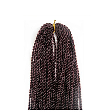 marley letitys hiukset afro twist punokset rastat virkkaa punos Senegalin kierre punos hiukset 3pack paljon