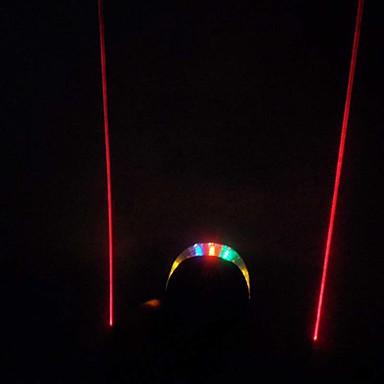 Luzes de Bicicleta Luz Traseira Para Bicicleta LED Ciclismo Impermeável Laser Fácil de Transportar Adequado Para Veículos Tamanho Compacto