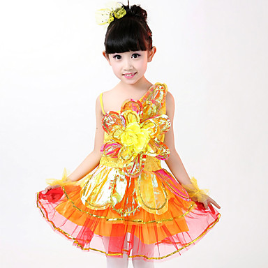 fd510ed2fb1 Θα φορέσουμε τα φορέματα μπαλέτου εφαρμογές παιδιών 4 κομμάτια φόρεμα