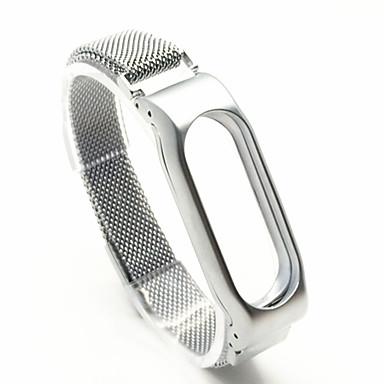 Pulseiras de Relógio para MiBand Xiaomi Pulseira Esportiva Metal Tira de Pulso