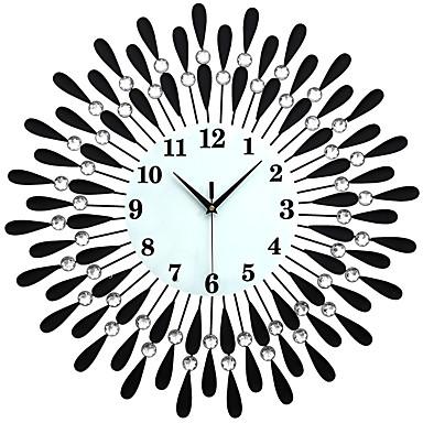 الحديثة / المعاصرة مكتب / الأعمال العائلة المدرسة / التخرج الأصدقاء ساعة الحائط,بدعة كريستال معدن 60*60 داخلي ساعة حائط