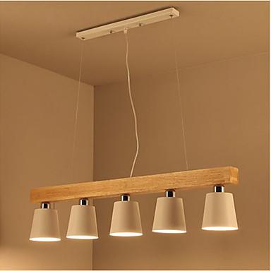 5-Light Anheng Lys Omgivelseslys - Mini Stil, 110-120V / 220-240V Pære ikke Inkludert / 15-20㎡ / E26 / E27