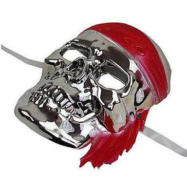voordelige Maskers voor de feestdagen-Halloweenmaskers Carnavalsmaskers Schedelmasker Schedel Horrorthema Volwassenen Unisex Jongens Meisjes