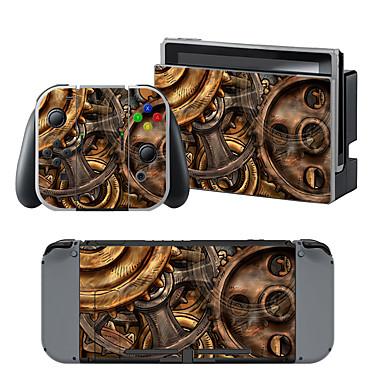 B-SKIN Nintendo Switch / NS لاصق من أجل تبديل نينتندو ، محمول / حداثة لاصق PVC 1 pcs وحدة
