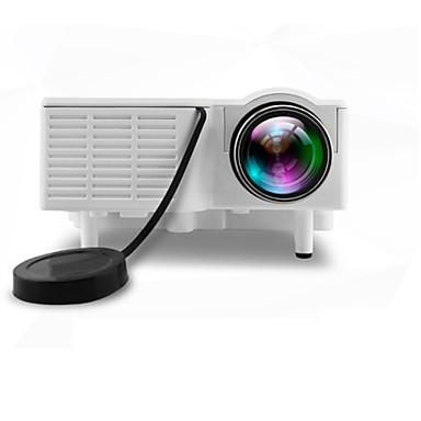 UNIC LCD Mini Proiector LED Proiector 500 lm A sustine 1080 (1920 x1080) 10-100 inch Ecran / 4:3 și 16:9  / QVGA (320x240) / ±15°