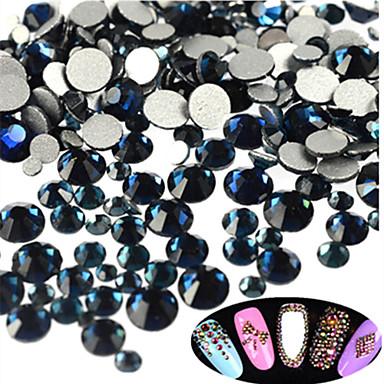 400-500pcs/bag Glimmer Negle Smykker Rhinestones Smuk Neglekunst Manikyr pedikyr Daglig Glitters / Bryllup / Shimmering / Nail Smykker