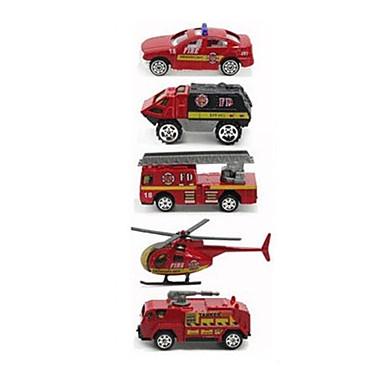 Brannbil Leketrucker og byggebiler Lekebiler kjøretøy Leke 1:64 Metallisk Plast 1pcs Gutt Barne Leketøy Gave