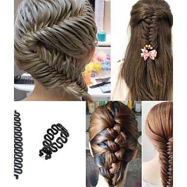 abordables Coiffes-Plastique Outil de cheveux avec 1 Mariage / Occasion spéciale / Décontracté Casque
