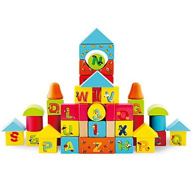 50 pcs Brinquedos Magnéticos Blocos de Construir / Cubo de quebra-cabeça Clássico Diversão Castelo Crianças Dom